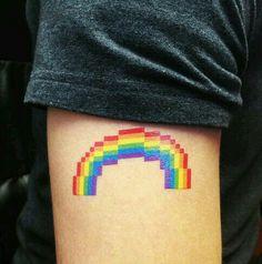 LGBT+ tattoo