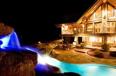 cabin with pool