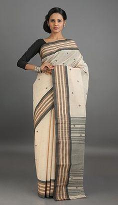 Bengal Tant Cotton Saree   Bengal Cotton Sarees Online