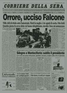 """Lo SPECIALE del """"Corriere della Sera"""" dedicato ai 20 anni dalla strage di Capaci -> http://www.corriere.it/cronache/speciali/2012/giovanni-falcone-venti-anni-dopo/"""