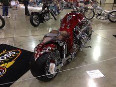 V8 engine bike