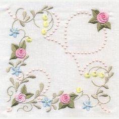 Antique Pearly Rose Quilt - Artistic Designs | OregonPatchWorks