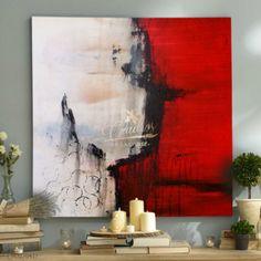 Abstractos La Sangre de Cristo - Cuadros Decorativos Al Óleo
