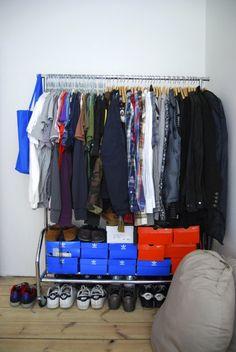 who needs closets?