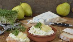 Der Aufstrich macht das Brot! Naturtrüber Birnensaft verleiht dem mit Kresse verfeinerten Gorgonzolaaufstrich eine dezent süße Note.