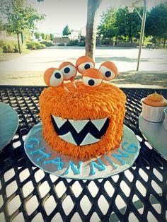 monster cake idea