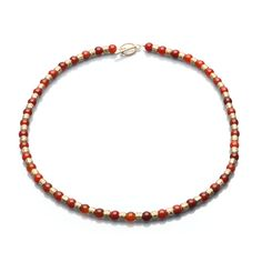 Add an elegant pop of colour to your wedding day jewelry with this Artistic Falls Red Agate and Gold Tone Tubes Necklace. https://www.artisticfalls.com/store/p77/Artistic_Falls__Red_Agate_and_Gold_Tone_tubes_Necklace_.html