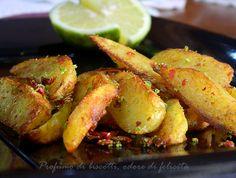 Le patatine lime e pepe rosa sono un contorno ideale sia per carne sia per pesce, dal sapore particolare e delicato, piaceranno a tutti!