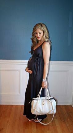 582ec59d998 Outfitted411  August 2014 maternity fashion maxi dress Pregnancy Wardrobe