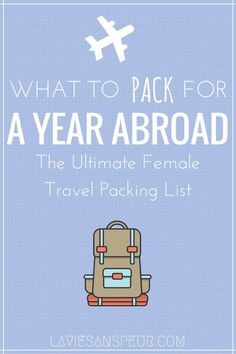 college packing list The ultimate female packing list for a year in China! Loaded with extra tips and suggestions to make packing for life abroad easy. Learn from my mistakes! Packing Hacks, Packing Checklist, Packing List For Travel, Packing List Beach, Weekend Packing, Ultimate Packing List, Camping Packing, Vacation Packing, Nanjing