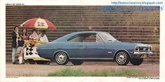 AUTOS CLÁSSICOS: CHEVROLET OPALA 1972