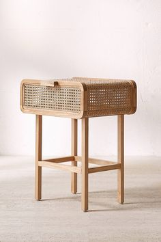 Slide View: 3: Marte Rattan Side Table