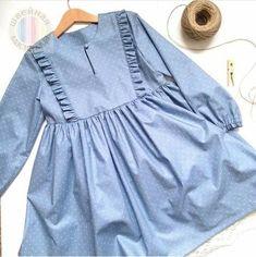 50 Ideas For Sewing Dress For Little Girls Mom Girls Frock Design, Baby Dress Design, Baby Girl Dress Patterns, Stylish Dresses For Girls, Stylish Dress Designs, Little Girl Dresses, Baby Frocks Designs, Kids Frocks Design, Mode Abaya