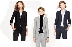 Business attire by J.Crew