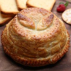 Folhado de goiabada e queijo fresco