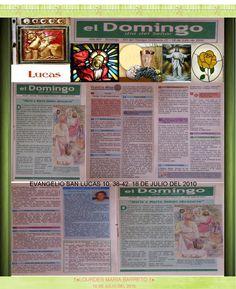 †EVANGELIOS ASISTIDOS,CONFESIÓN Y EUCARISTÍA†EVANGELIO SAN LUCAS 10, 38-42. 18 DE JULIO DEL 2010†♠LOURDES MARIA BARRETO †♠
