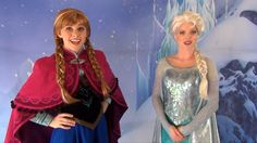 Anna and elsa meet greet w talking olaf at fantasyland frozen anna is just so stinking adorable m4hsunfo