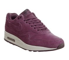 differently 2dbe3 ce5ee Nike Air Max 1 Trainers Bordeaux Desert Sand - His trainers