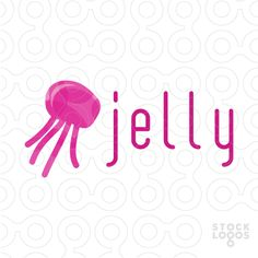 Exclusive Customizable Logo For Sale: Jellyfish Media | StockLogos.com