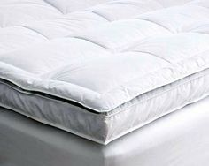 suiteu0027 double layer down and feather mattress topper slept on one of