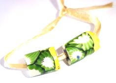 Rare Antique Green Mosaic Millefiori Banded by JewelryStatements, $5.99