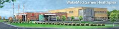 WakeMed Garner Healthplex  At the WakeMed Garner Healthplex, we're looking forward serving the healthcare needs of the southeastern Wake and Johnston County communities.  Opening for Patients August 19 at 7am      24/7 Emergency Department     Imaging     Laboratory     Physician Practices