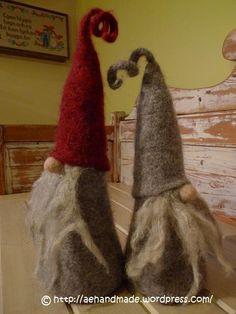 Adorable Gnomes- felting