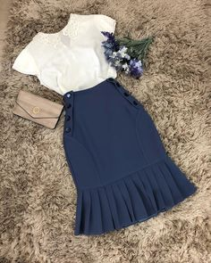 New Dress Modest Casual Work Outfits 23 Ideas Casual Work Outfits, Classy Outfits, Pretty Outfits, Vintage Outfits, Cute Outfits, Beauty And Fashion, Work Fashion, Modest Fashion, Fashion Dresses