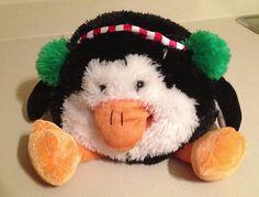 Musical Penguin Puppet Plush