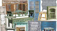 El decapé en los muebles es el efecto vintage o antiguo, que está muy de moda en la actualidad. Además, es una excelente forma de reciclar muebles que están en desuso y darles vida nueva. La... Furniture Decor, Ideas Para, Decoupage, Kitchen Design, Sweet Home, Cool Stuff, Diy, House, Painting