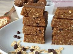 Cinnamon Cookie Dough Bars by Plant-Powered Kitchen