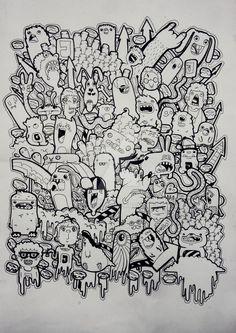 Doodle Coloring Pages Doodle Art Designs Cute Doodle