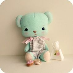 biscuit bear by Gingermelon, via Flickr
