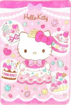 Hello Kitty Blanket: Sweet Princess