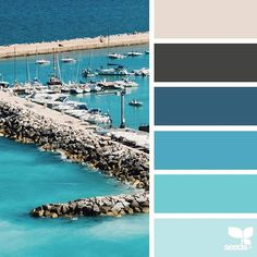 today's inspiration image for { sea color } is by @andrea_sopranzi ... thank you, Andrea, for another incredible #SeedsColor image share!