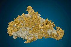 Gold - Little Johnny Mine, reece Hill, Leadville, Leadville District, Lake Co., Colorado, USA Size: 6.8 cm