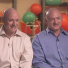 Mark & Scott Kelly -  First identical twin astronauts to be in space at the same time. Mark is also the husband of congresswomen, Gabrielle Gifford.