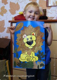 В садике каждый год проводят выставки, и  попросили сделать семейную поделку из природных материалов. Вот решили выставить  на ваш суд поделки которые мы сделали. Идеи мы взяли из страны мастеров. Спасибо большое, за то что вдохновляете своими работами! фото 5 Rainy Day Fun, Autumn, Fall, African Art, Art For Kids, Diy And Crafts, Deco, School, Projects