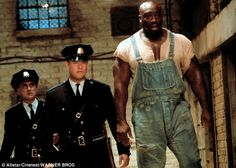 Iconic: Tom and Michael in 1999's The Green Mile