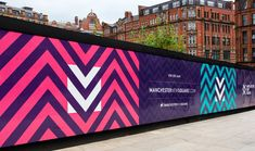 Propaganda Manchester New Square – Hoarding - Steve Edge Design Brand name clothing online deals Bra Web Banner Design, Wall Design, Design Design, Menu Design, Cover Design, Environmental Graphics, Environmental Design, Creative Advertising, Advertising Design