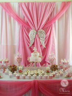 Haz que la celebración de bautizo de tu bebe sea un día especial con este tip para decorar. #bautizo #decoracion