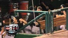 Praying Mantis Vs #Marlins #Baseball Players - #funny