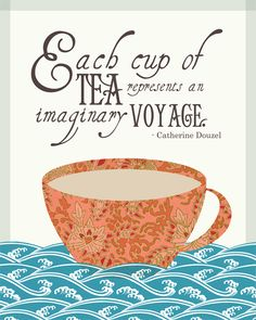 Ein gesunder neuer Anfangi know ishould be drinking tea Chai, Tea Time Quotes, Quotes About Tea, Coffee Quotes, Books And Tea, Party Quotes, Cuppa Tea, Longjing Tea, Oolong Tea