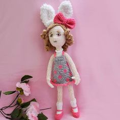 My Holiday is over but I had a little bit time for crocheting a idea: this cute bunny-girl. Now... it's time to crocheting some older orders again... #crochet #dollmaker #niggyarts #cute #amigurumi #doll #crochetdoll #häkeln #handmade #handarbeit #häkelpuppe #instacrochet #crochetofinstagram #bunny #hase #kawaii #kawaiidoll