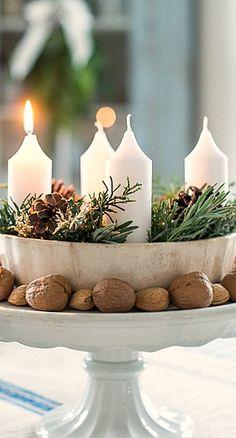 candle centerpiece....