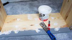 5 kroków jak zrobić piękny domek dla lalek / regał ze starej komody Ikea Rast. DIY zrób to sam