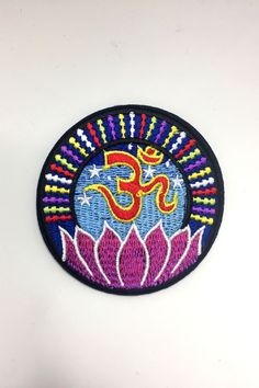 Om Lotus Yoga Patch