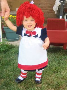 Raggedy Ann- with instructions and wig tutorial link