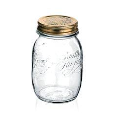 Bormioli Rocco Quattro Stagioni Jar, 17 oz.