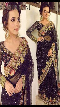d69b2446d2 Saree Beautiful Saree, Indian Designer Wear, Blouse Designs, Indian  Outfits, Indian Clothes